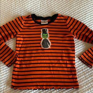 Hanna Andersson Halloween shirt, 120 (6/7)